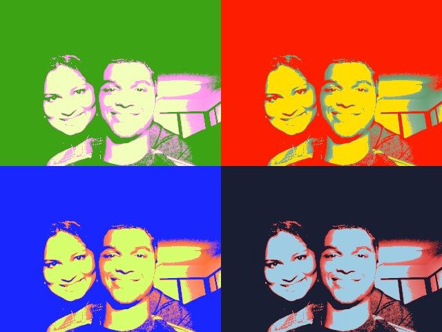 Yasmin and I